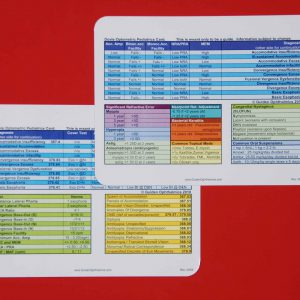 Pocket Pediatrics Reference Card (Dovie Card)-0