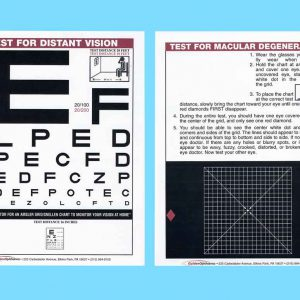Home Vision Card (Acuity and Amsler Grid)-0