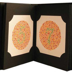 Ishihara Color Testing Book (38 Plate)-0