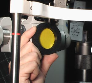 Slit Lamp Yellow Filter-0