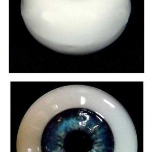 Silicone Human Eye Replica (Blue Iris)-0