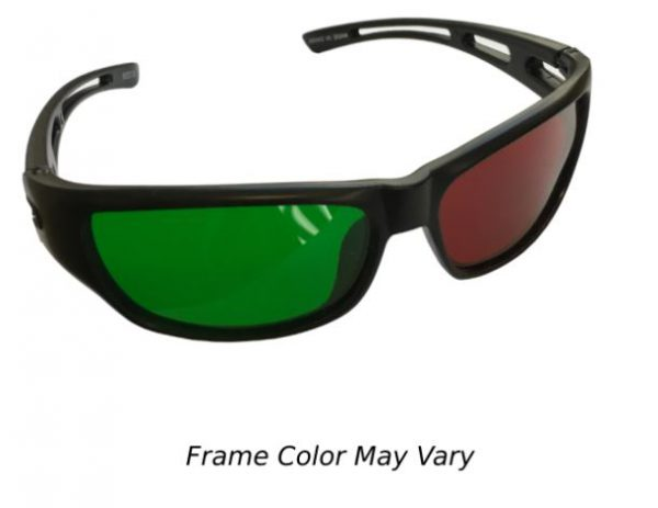 Reverse Wraparound Red/Green Glasses (Child Size)-0
