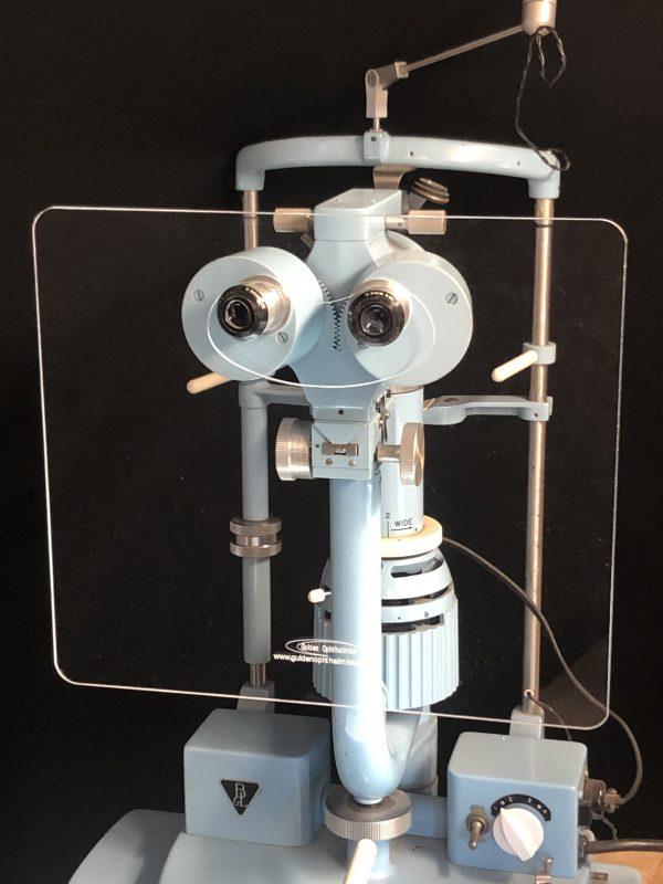 Large Slit Lamp Breath Shield